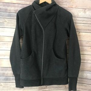 Lululemon Cozy Up Sweatshirt Jacket size 8 EUC
